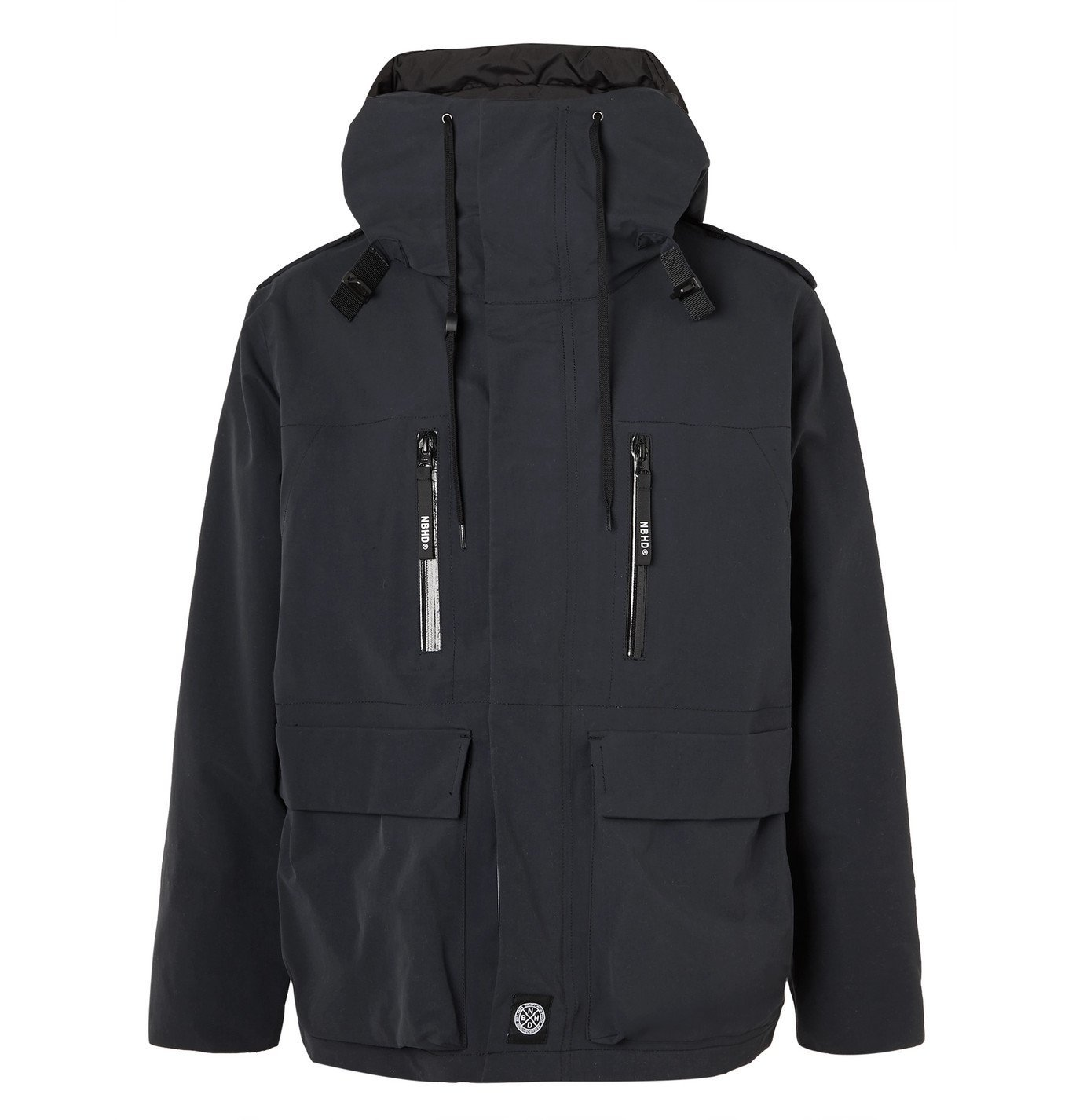 Photo: Neighborhood - Nylon Hooded Jacket - Black