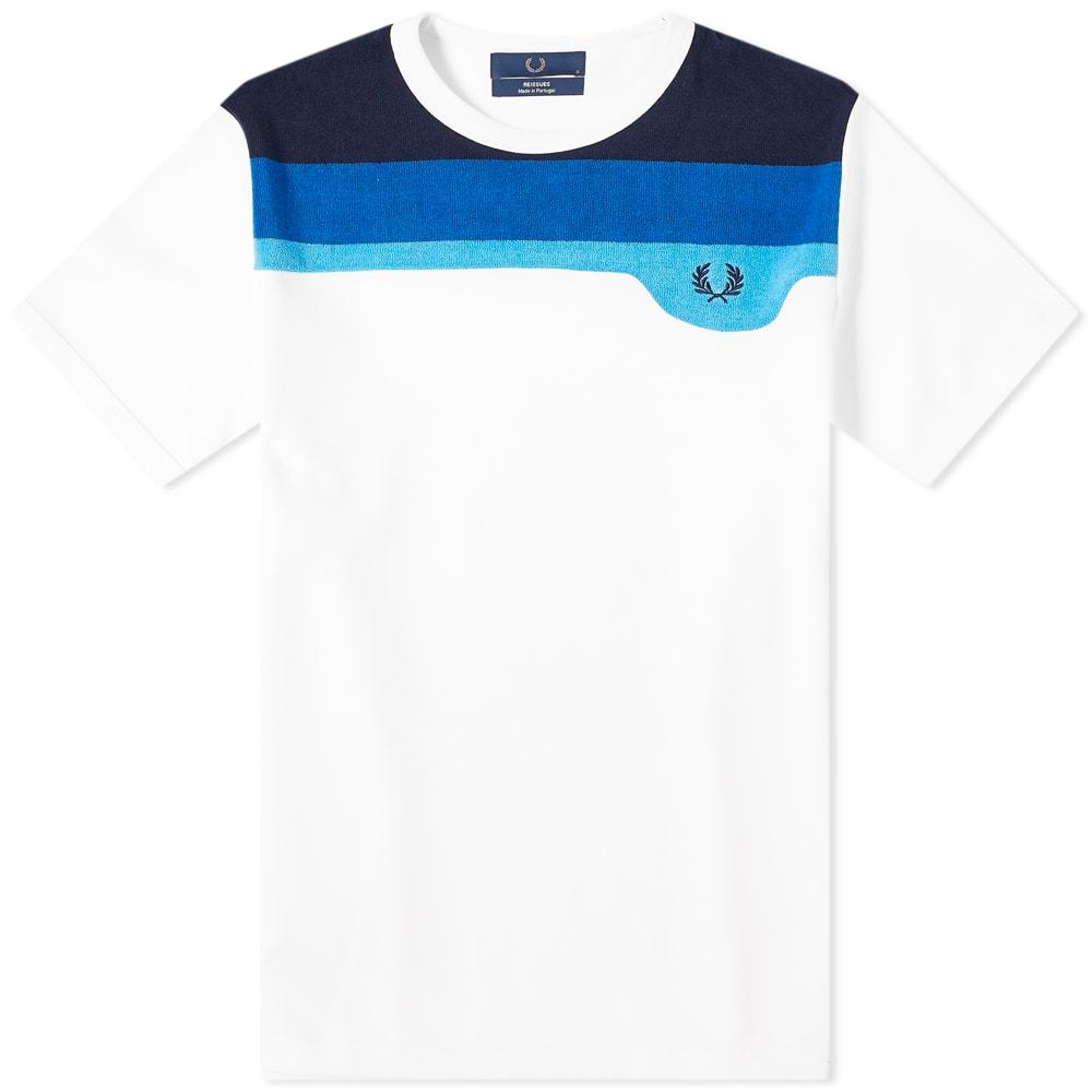 Photo: Fred Perry Reissues Towelling Striped Tee