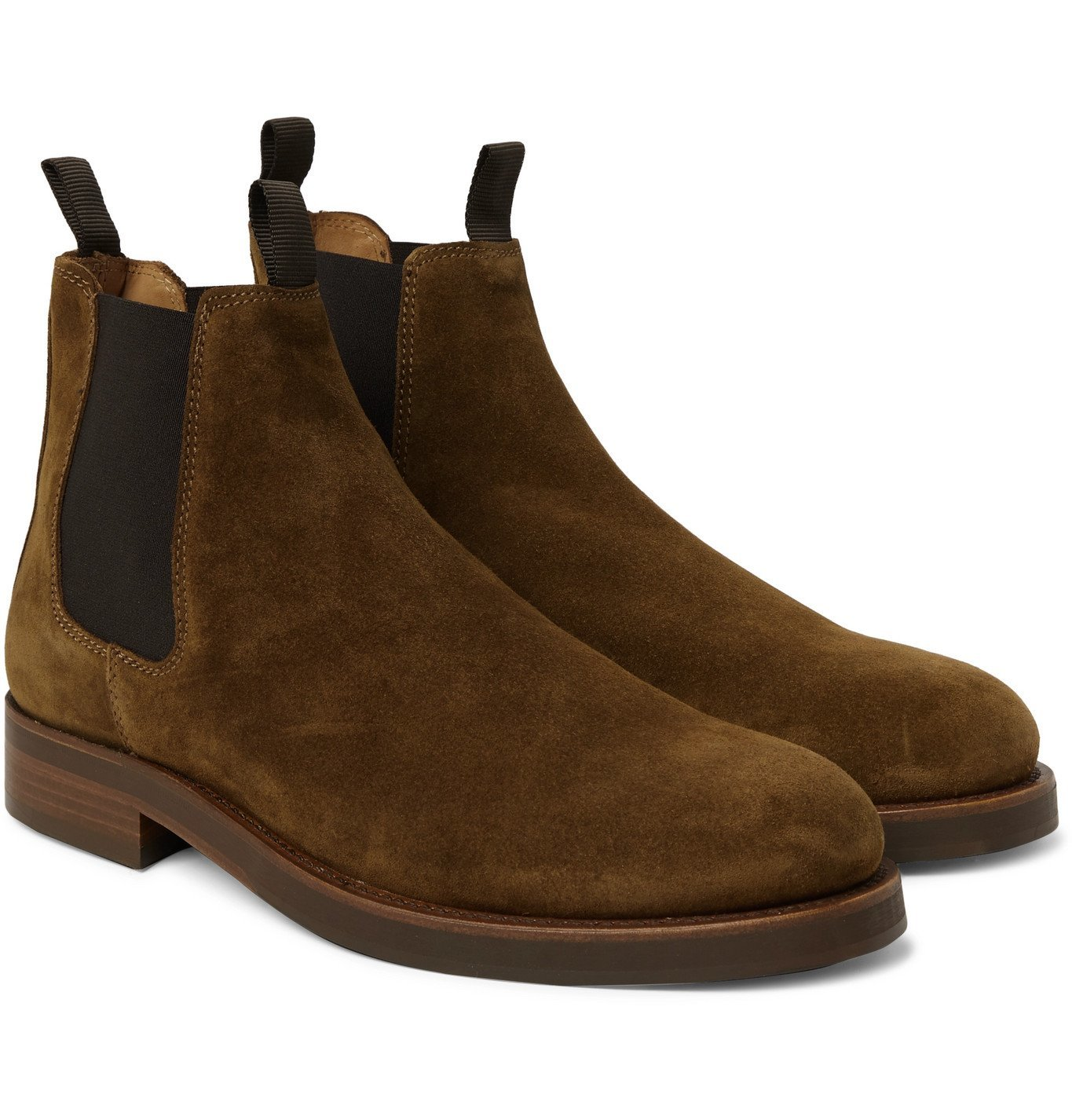 Photo: Belstaff - Longton Suede Chelsea Boots - Brown