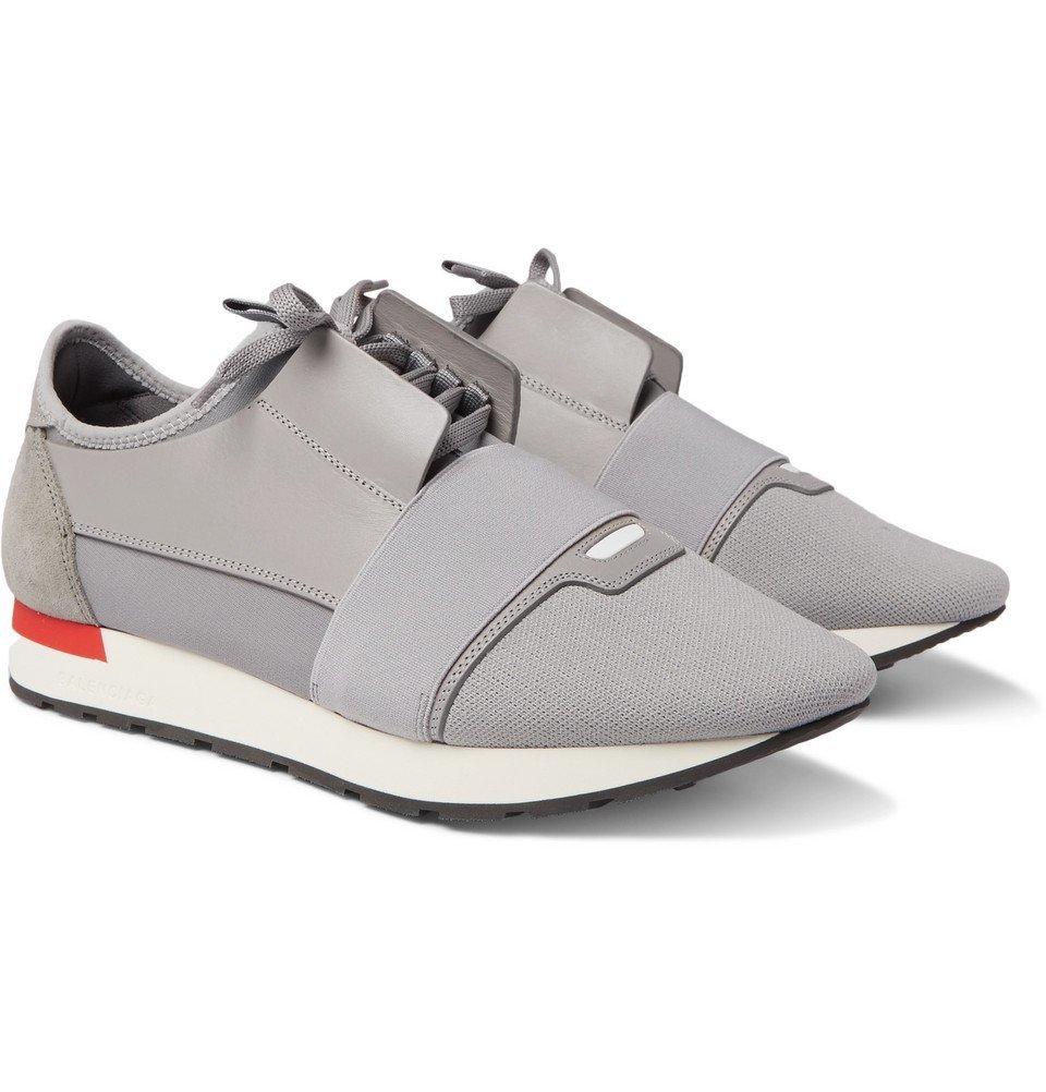 balenciaga race runner grey