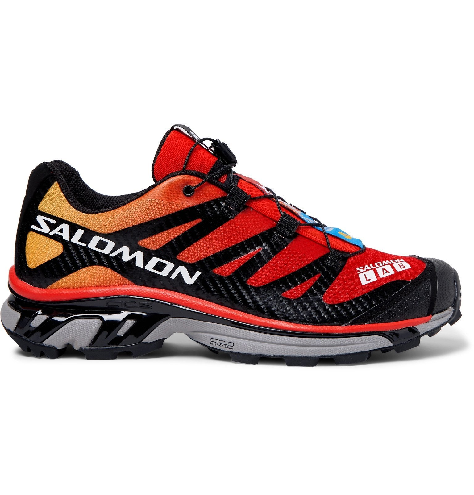 Photo: Salomon - S/LAB XT-4 ADV Mesh and Rubber Running Sneakers - Red