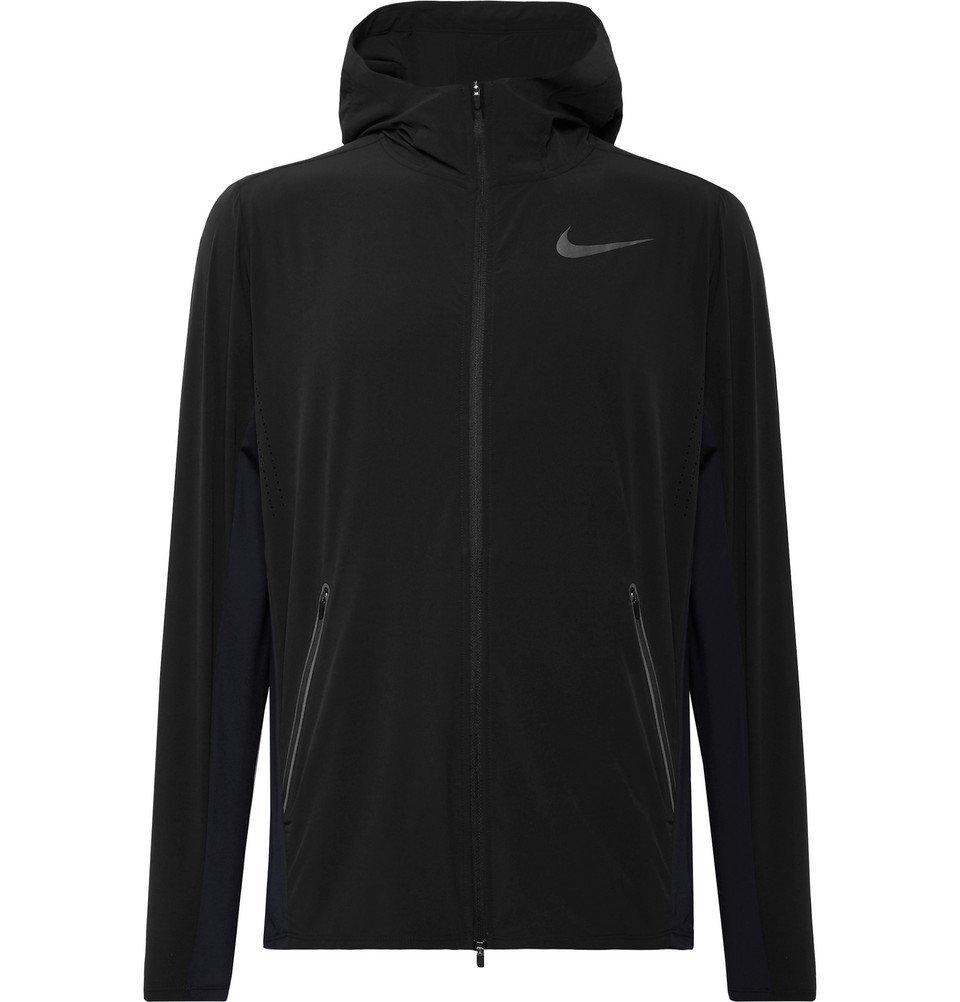 Nike Running - Dri-FIT Track Jacket - Men - Black