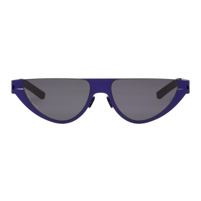 Martine Rose Blue Mykita Edition Kitt Sunglasses