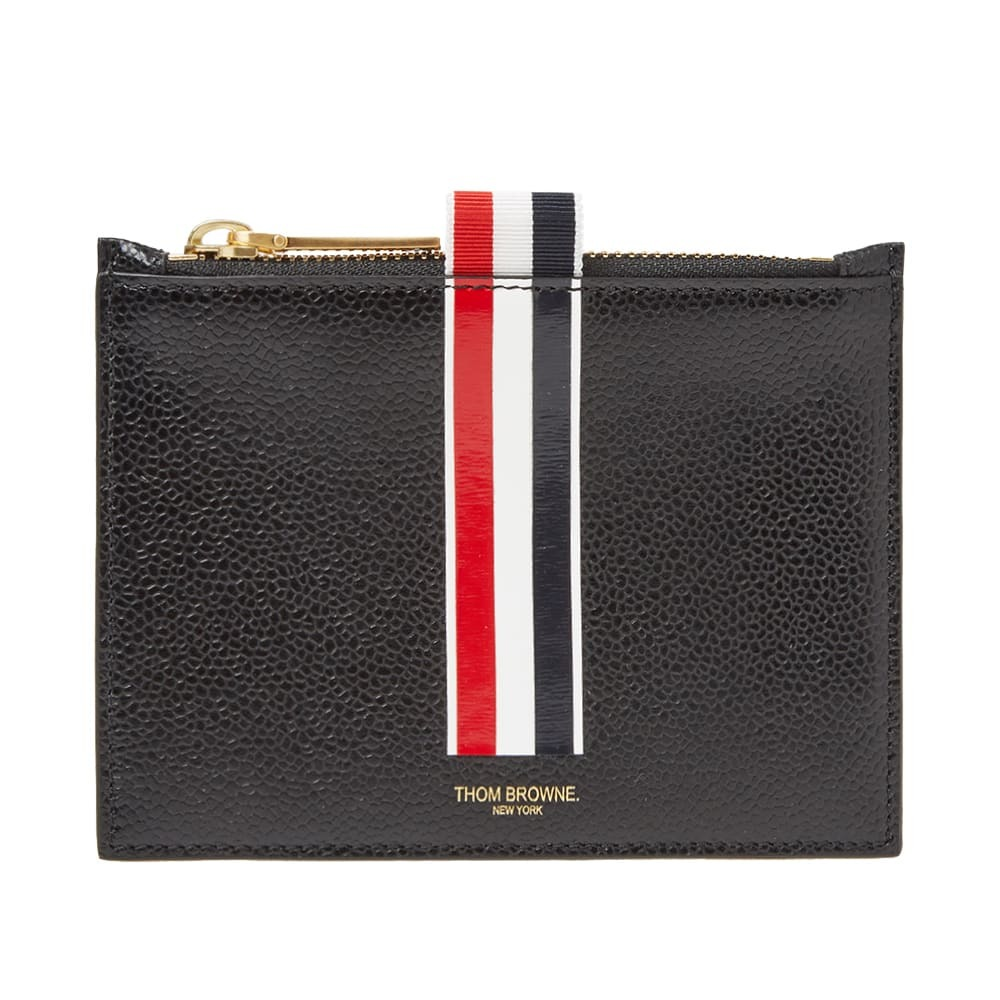 Photo: Thom Browne Small Zip Coin Holder
