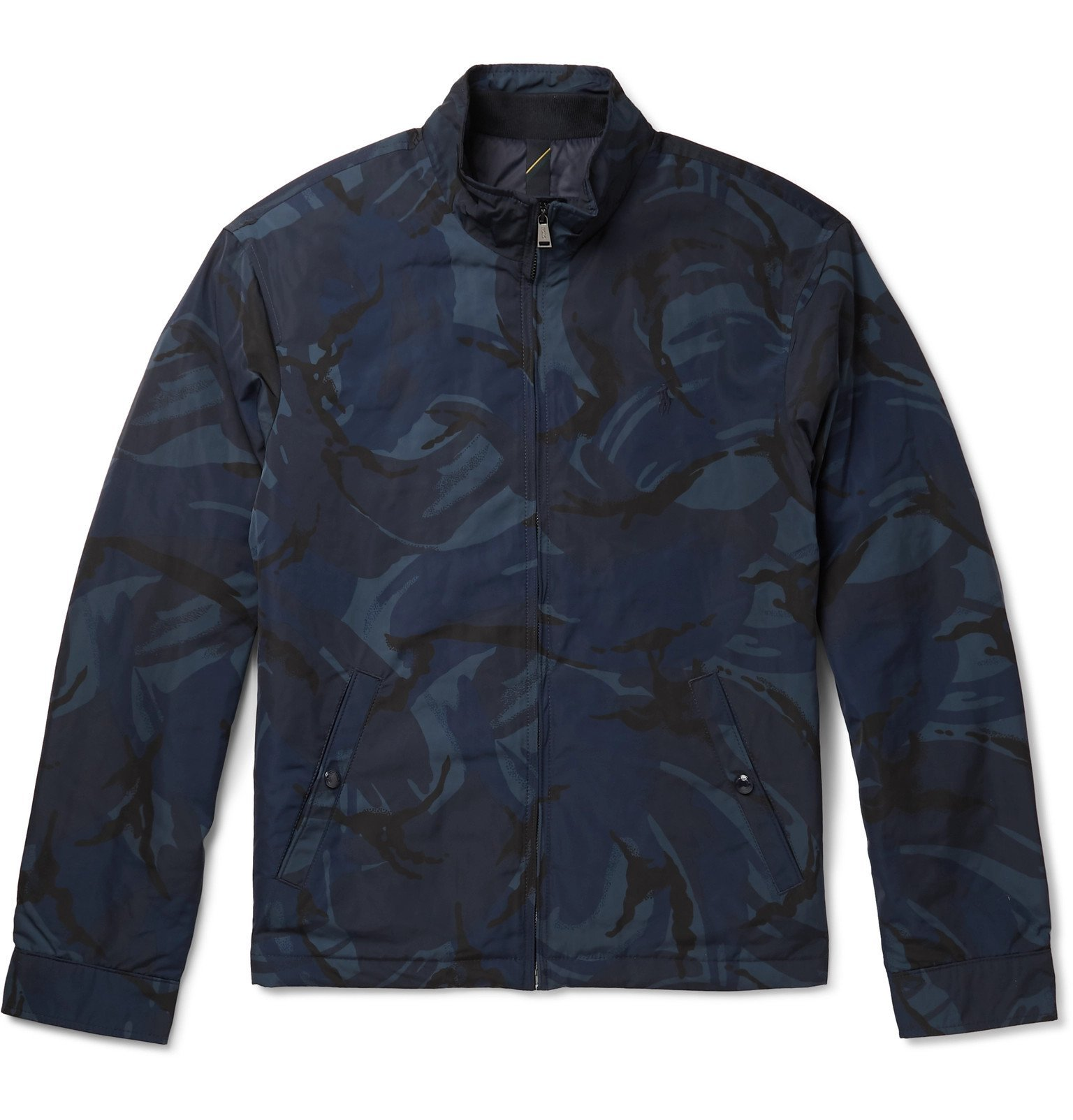 Photo: Polo Ralph Lauren - Camouflage-Print Padded Shell Jacket - Blue