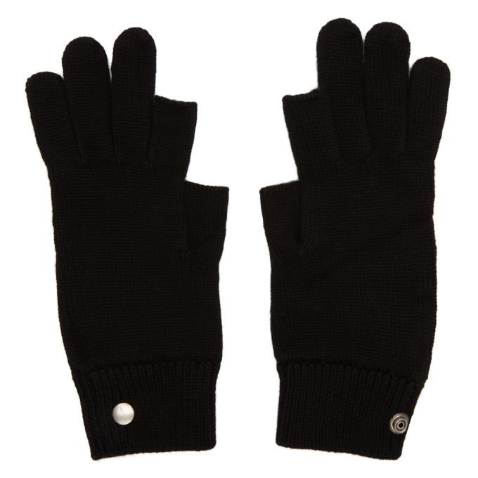 Photo: Rick Owens Black Larry Touchscreen Gloves