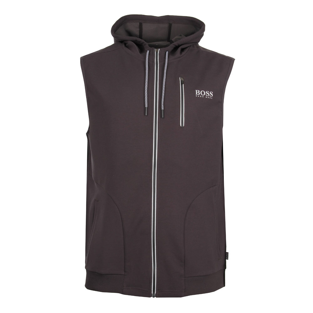 Photo: Beach Vest - Hooded Charcoal