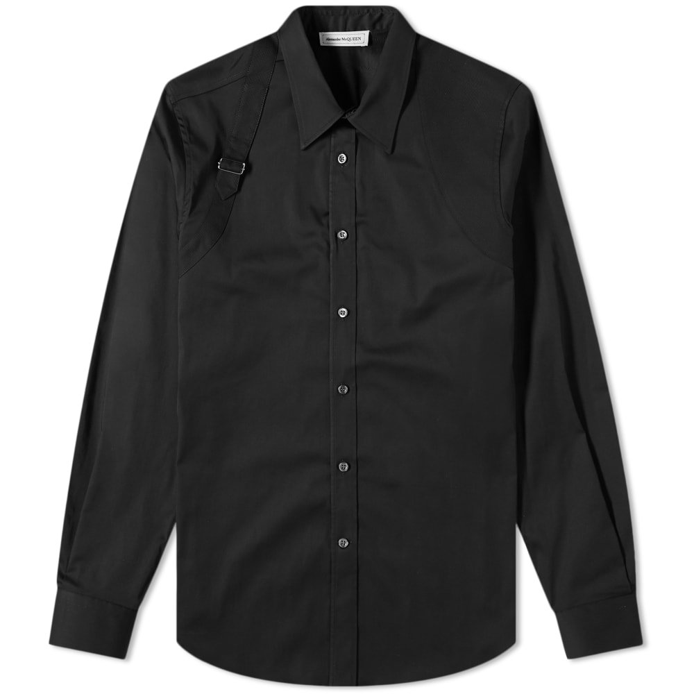 Photo: Alexander McQueen Classic Harness Shirt Black