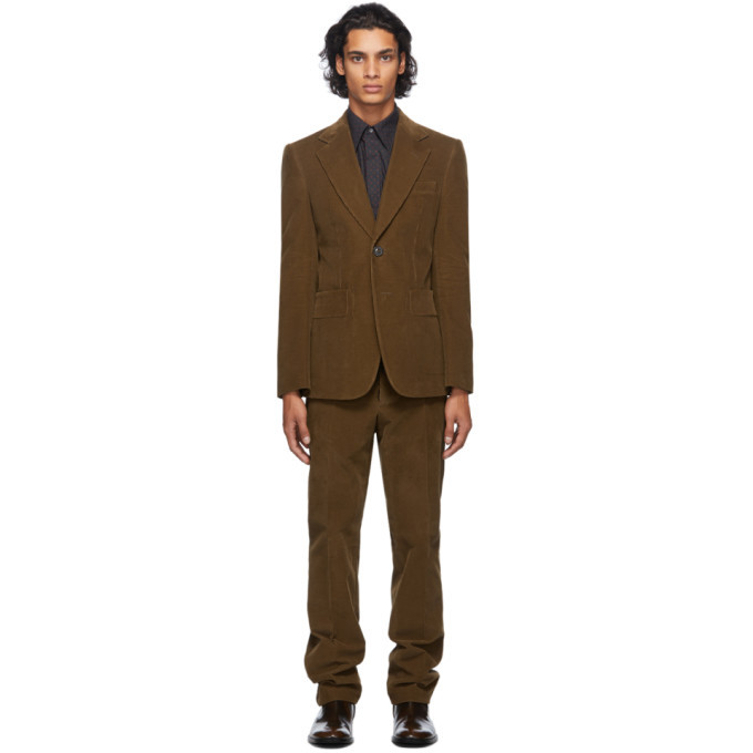 Photo: Maison Margiela Brown Corduroy Suit