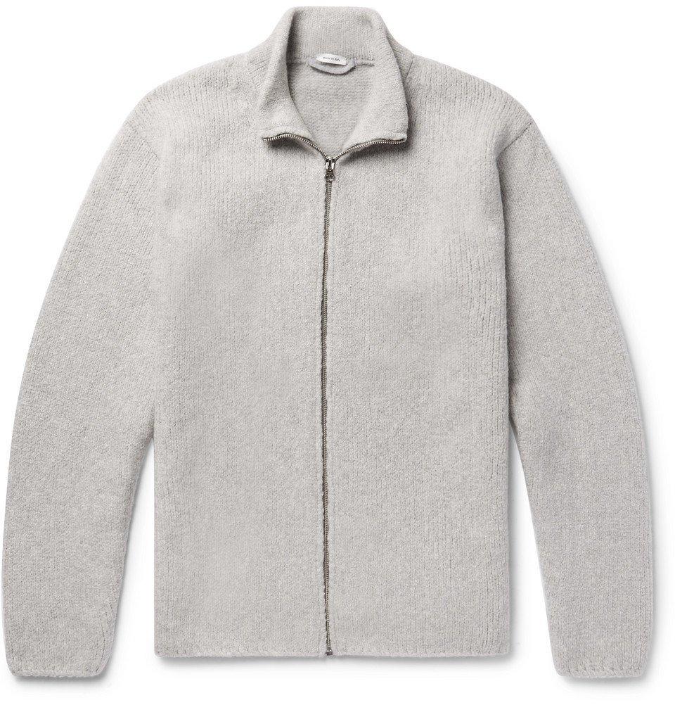 Photo: Ten C - Wool-Blend Zip-Up Cardigan - Men - Light gray