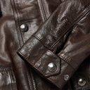 Belstaff - Trialmaster Leather Jacket - Men - Brown