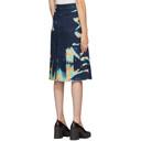 Stella McCartney Blue Denim Acid Wash Skirt