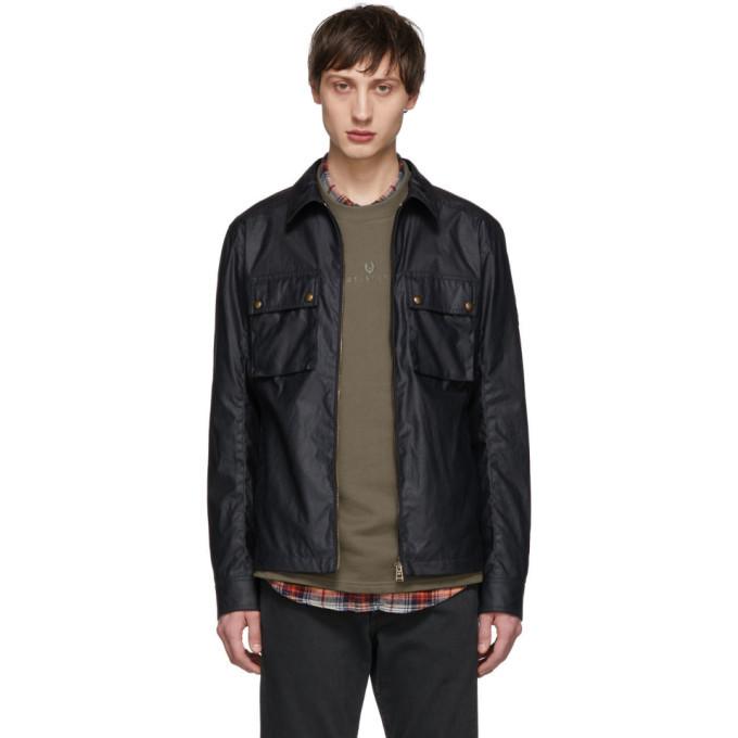 Belstaff Navy Dunstall Jacket