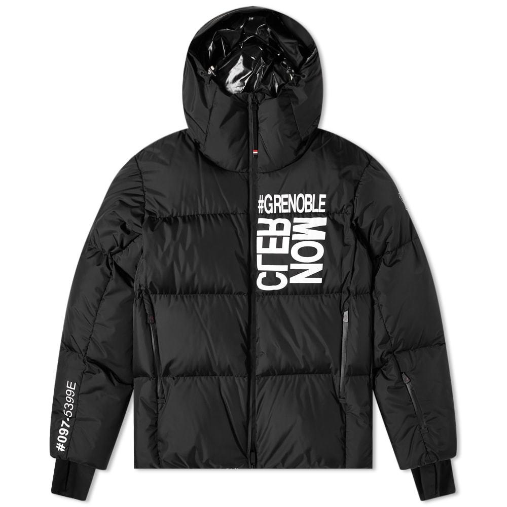 Photo: Moncler Grenoble Mazod Logo Down Jacket