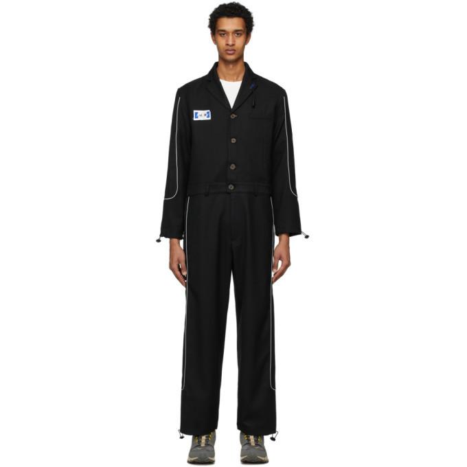 Photo: ADER error Black Wool Deod Jumpsuit