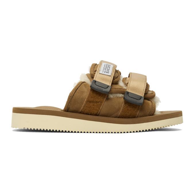 Photo: Suicoke Brown Moto-Mab Sandals