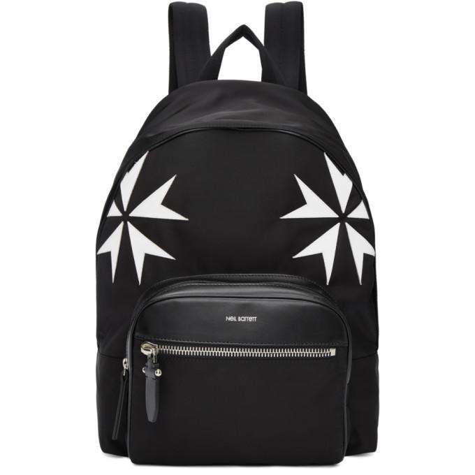 Photo: Neil Barrett Black Military Star Backpack