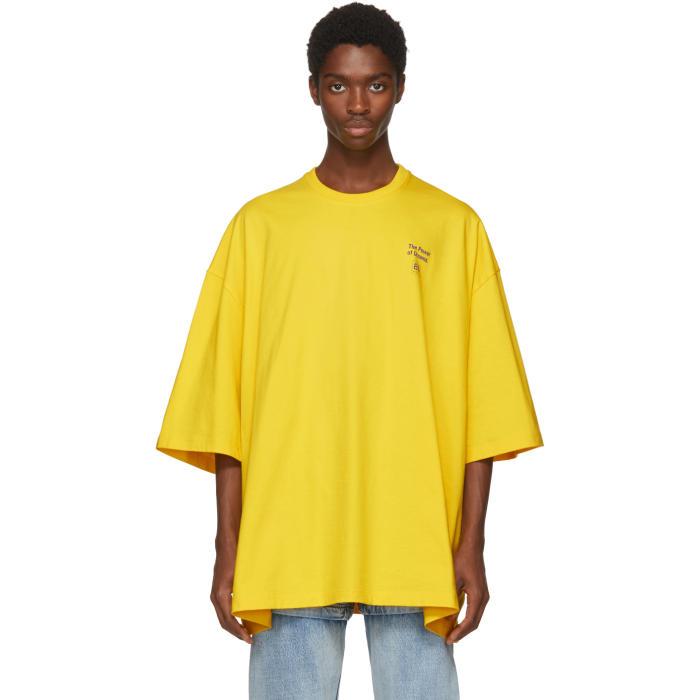 Photo: Balenciaga Yellow Power of Dreams Big Fit T-Shirt