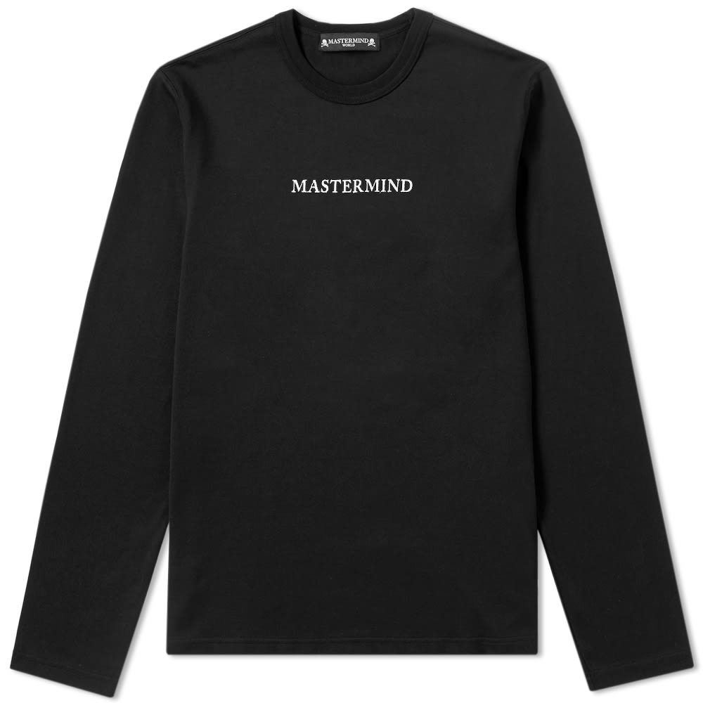 Photo: MASTERMIND WORLD Long Sleeve Embroidered Logo Tee