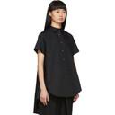 Sacai Black Poplin Shirt