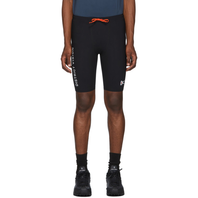 Photo: District Vision Black Speed Tight Shorts