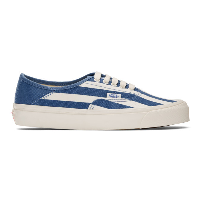 Photo: Vans Navy OG Style 43 Lx Sneakers