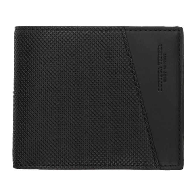 Photo: Bottega Veneta Black Marco Polo Bifold Wallet