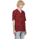 Ksubi Red Clash Short Sleeve Shirt