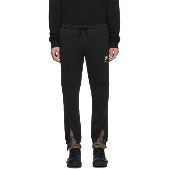 Photo: 1017 ALYX 9SM Black Nike Edition Camo Underlay Lounge Pants