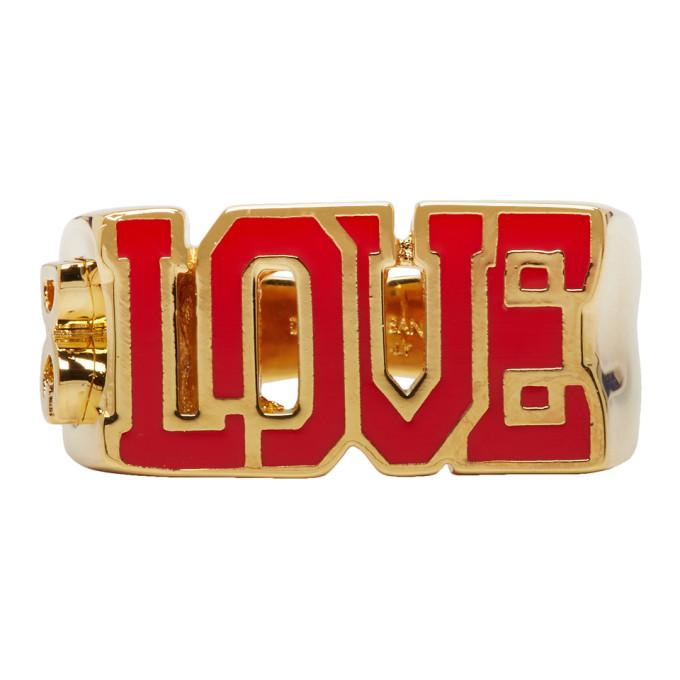 Photo: Dolce and Gabbana Gold Love Ring