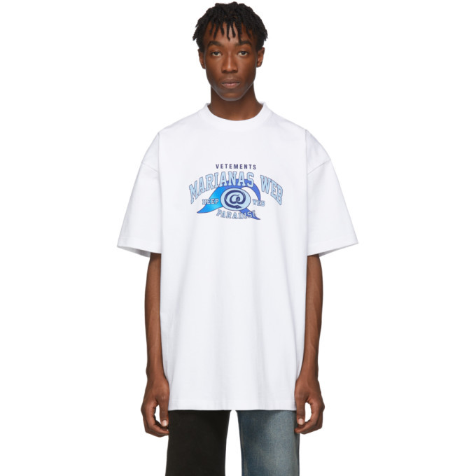 Photo: VETEMENTS White Marianas Web T-Shirt