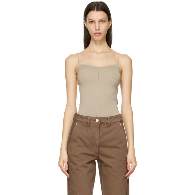 Photo: Lemaire Taupe Second Skin Tank Top
