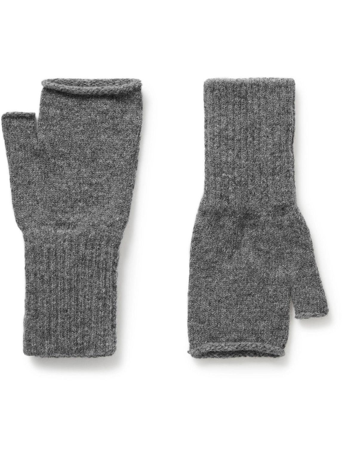 Photo: Margaret Howell - MHL Fingerless Wool Gloves
