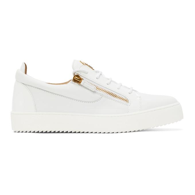 Photo: Giuseppe Zanotti White May London Birel Sneakers