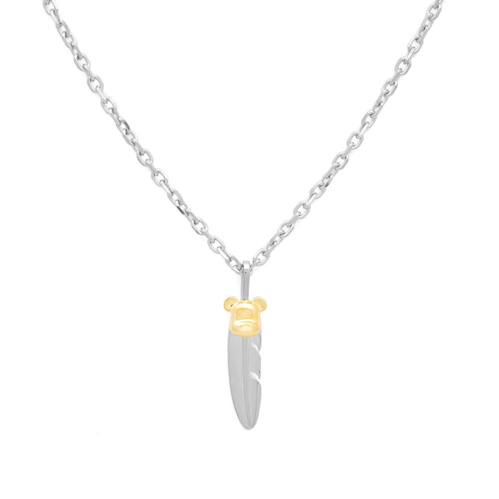 Photo: Medicom x Jam Home Made Small Feather Necklace