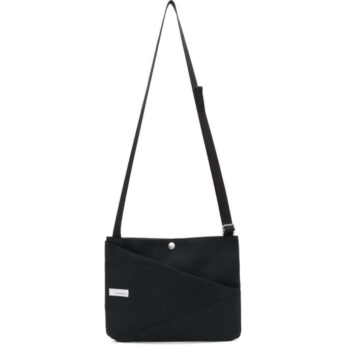 Photo: Nanamica Black Canvas Shoulder Bag