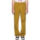 NAPA by Martine Rose Yellow Corduroy Blackburn Trousers