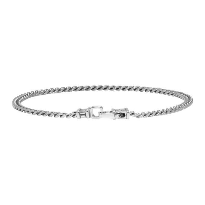Photo: Tom Wood Gunmetal Curb Chain Bracelet