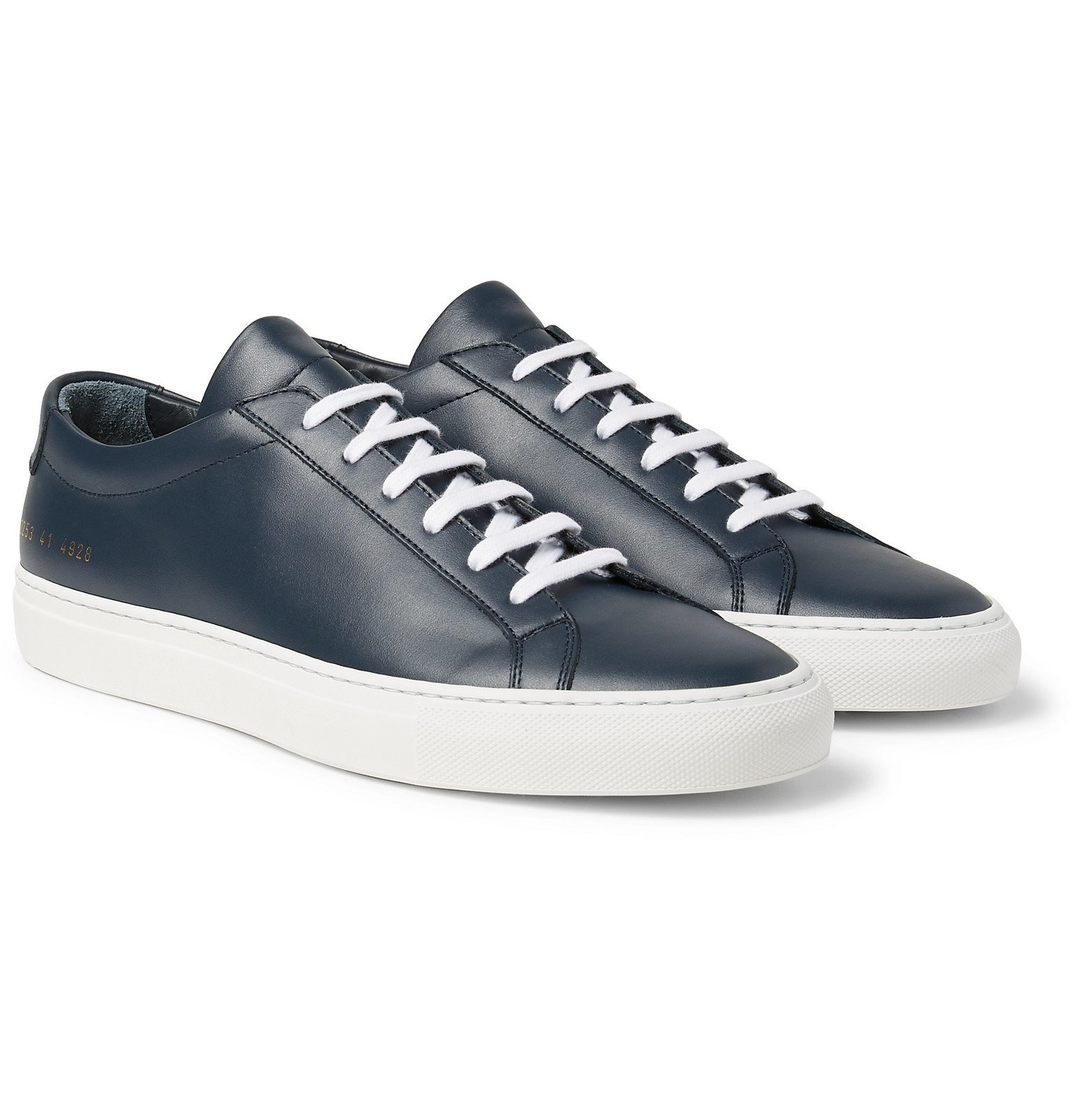 Common Projects - Original Achilles Leather Sneakers - Blue
