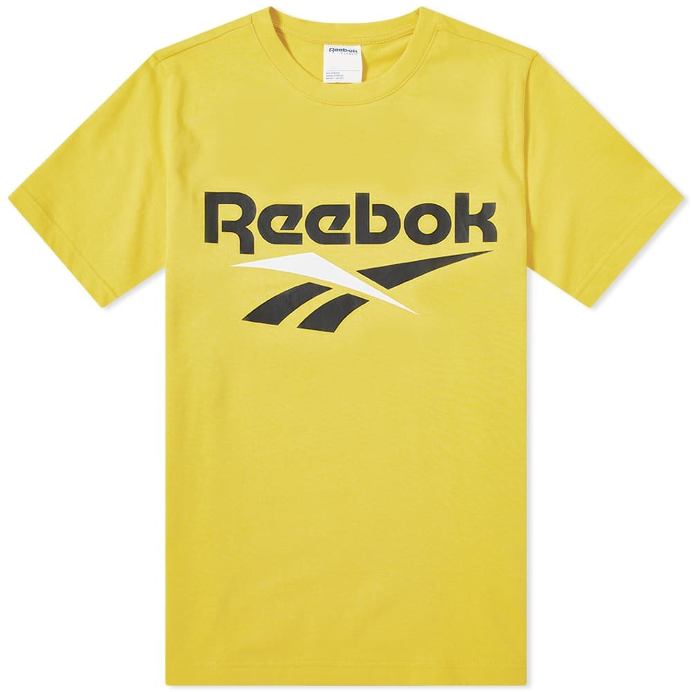 Photo: Reebok Vector Tee Toxic Yellow