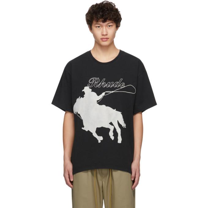 Photo: Rhude Black Lasso T-Shirt