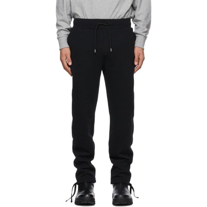Photo: 1017 ALYX 9SM Black Fleece Visual Lounge Pants