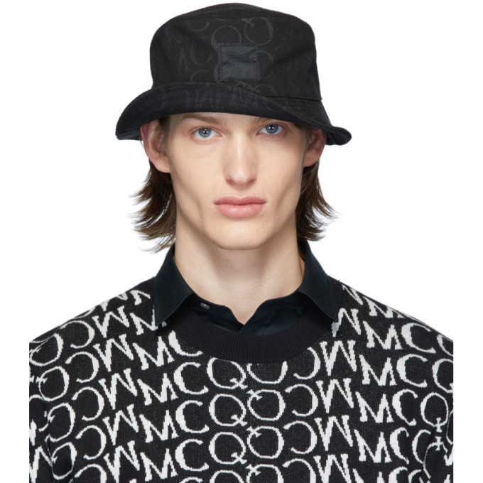 Photo: McQ Alexander McQueen Black Logo Bucket Hat