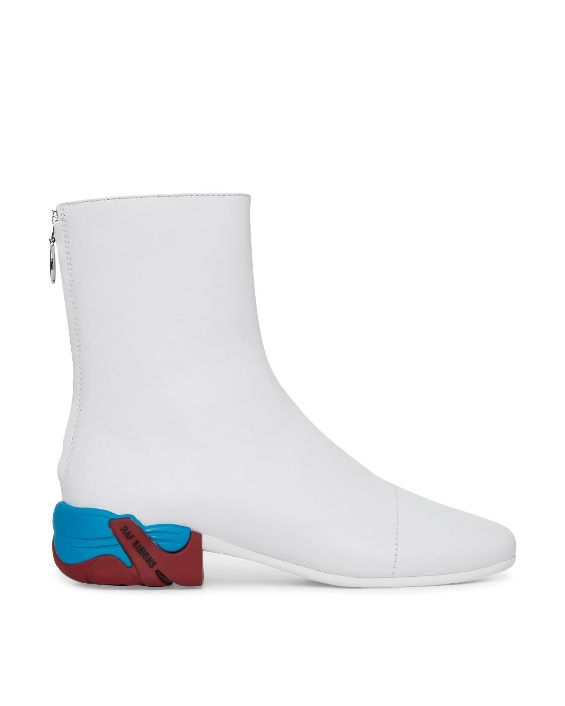 Raf Simons Runner Solaris 2 High Boots White Multi