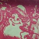 ARIES - Colour-Block Printed Cotton-Jersey T-shirt - Green - L