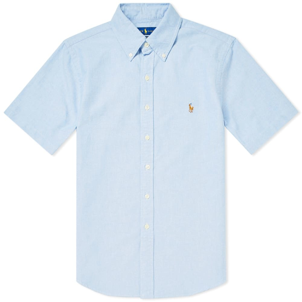 Photo: Polo Ralph Lauren Short Sleeve Button Down Oxford Shirt