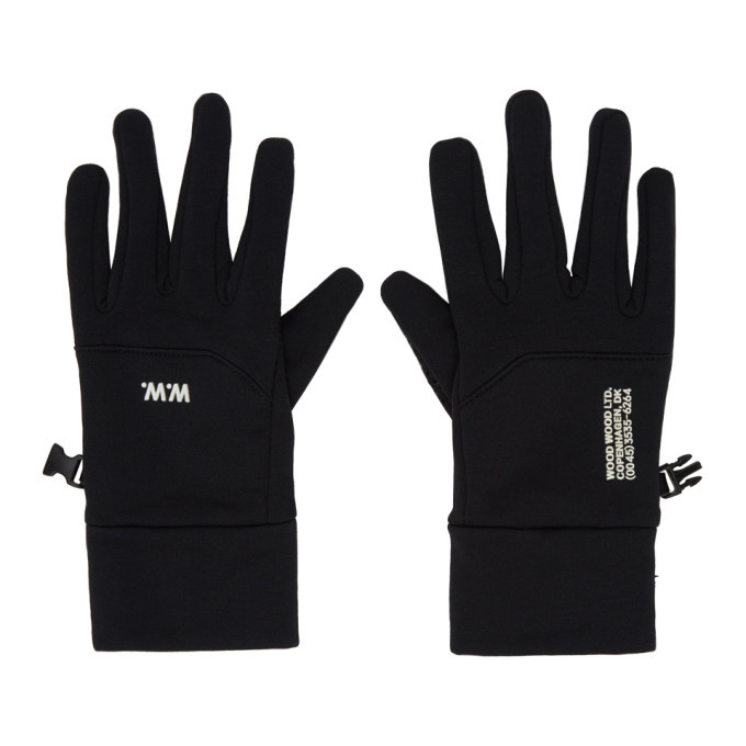 Photo: Wood Wood Black Holger Gloves