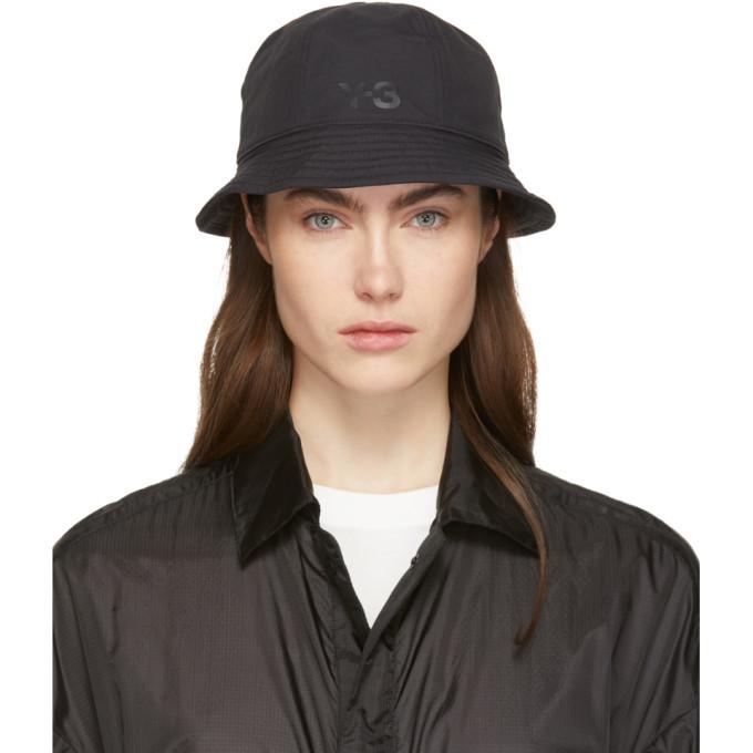 Photo: Y-3 Reversible Black Logo Bucket Hat