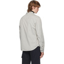 C.P. Company Grey Zipper Shirt