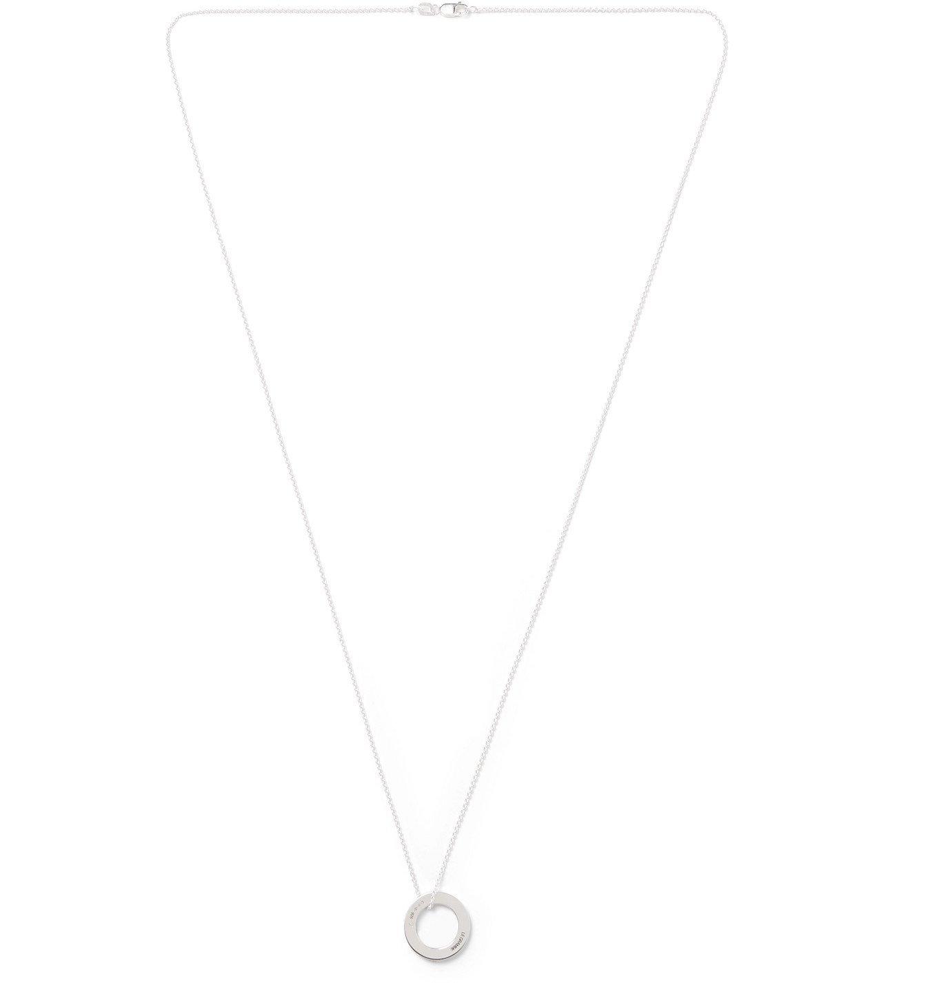 Photo: Le Gramme - Le 2.5 Sterling Silver Necklace - Silver